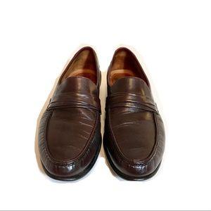 Allen Edmonds Bergamo Cordovan leather loafers